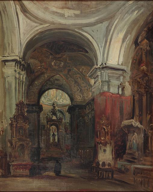 Pérez Villamil- Interior de San Isidro