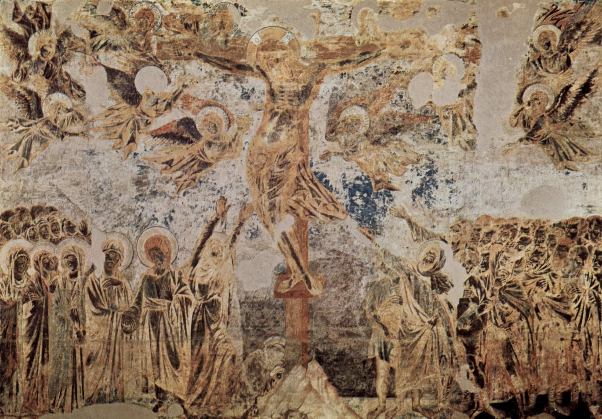 La Crucifixión de Cimabue