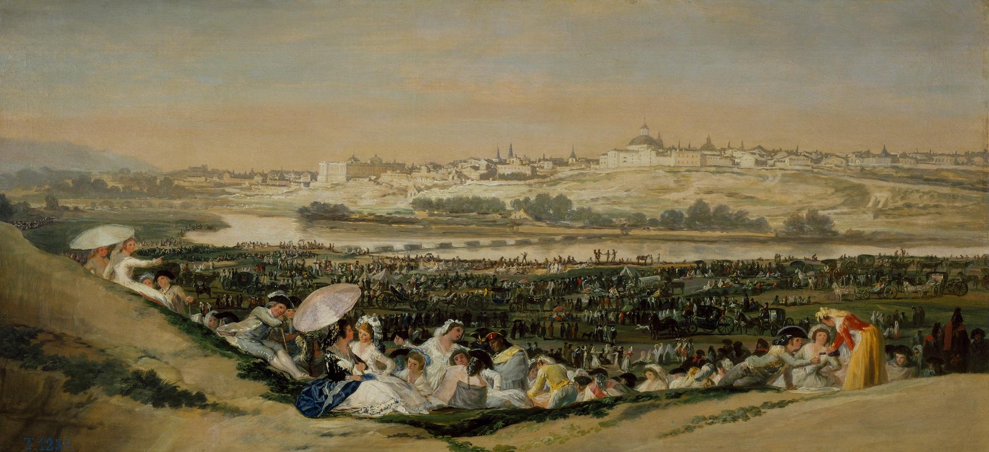 La_pradera_de_San_Isidro_de_Goya