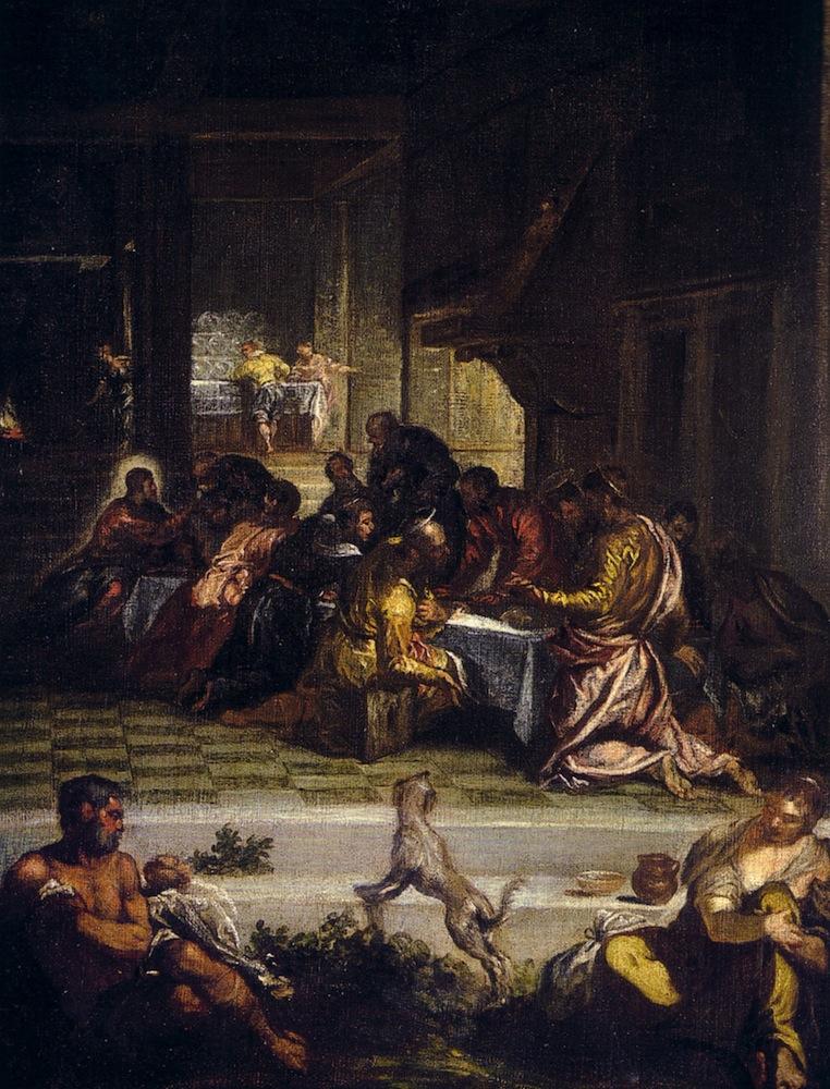 "Fig. 3- Diego de Silva Velázquez: ""La Última Cena"", copia del orginal de Tintoretto."