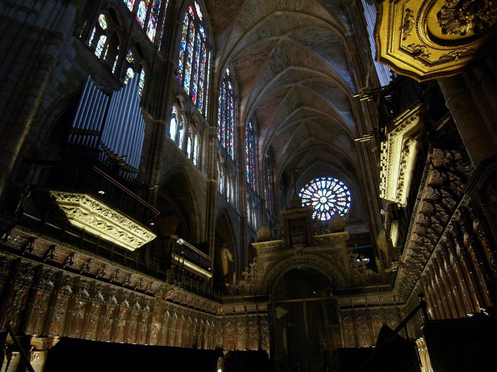 Coro de la Catedral de León en la actualidad