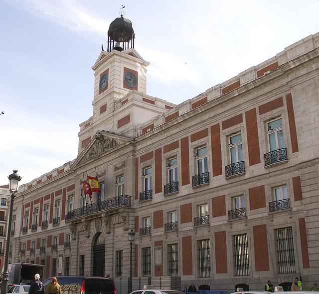 Real Casa de Correos, actual sede de la Presidencia de la Comunidad de Madrid.