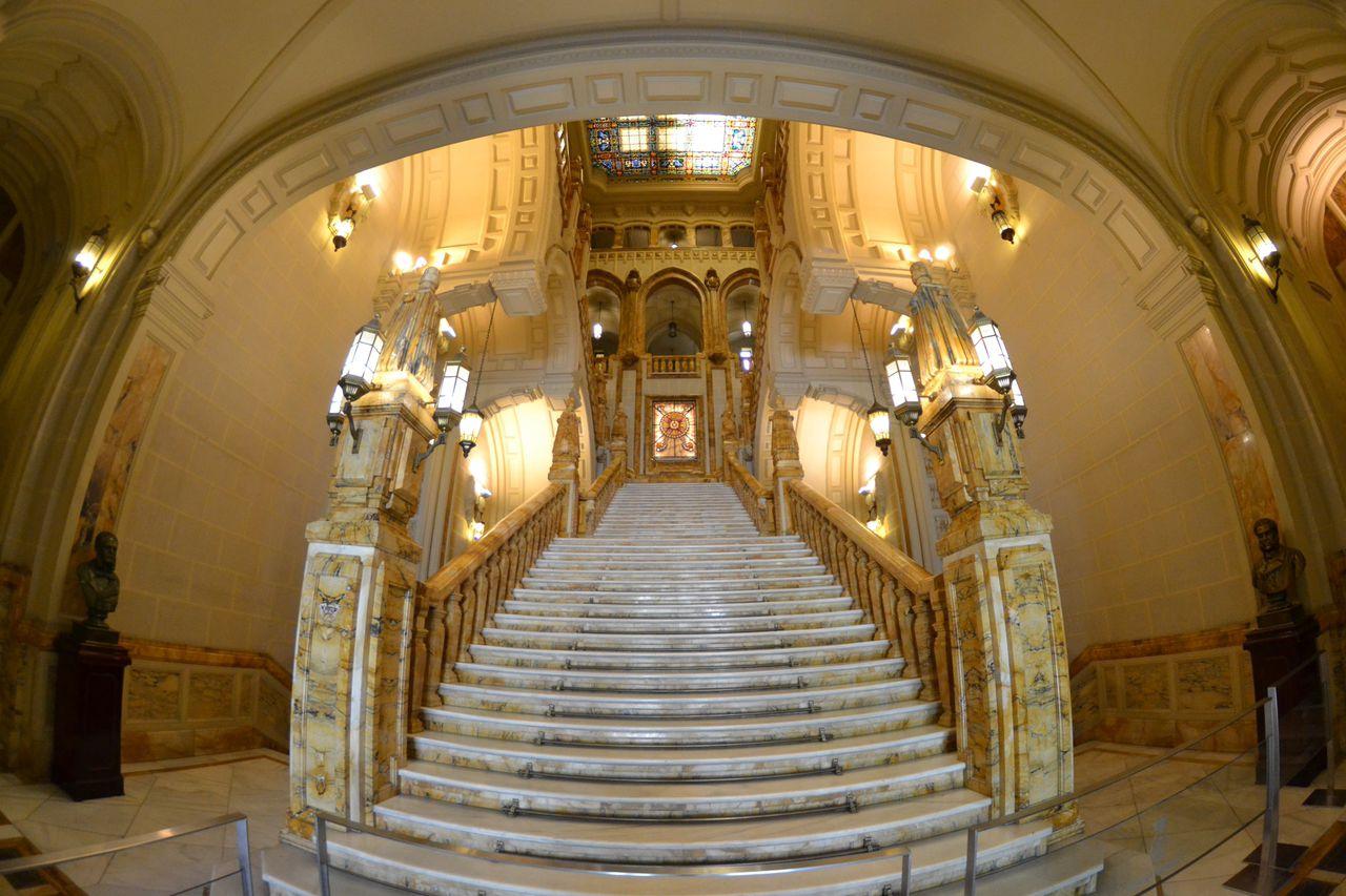 La escalera Imperial del Ministerio de Marina