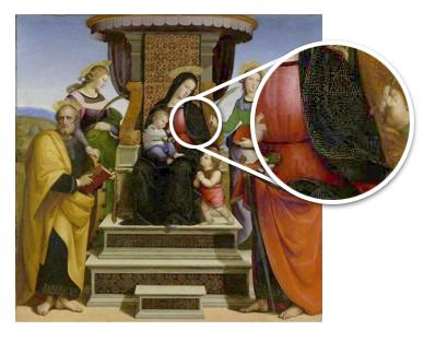 Materiales y técnicas pictóricas (II): La azurita