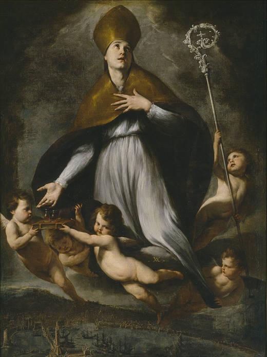 Si lleva barba San Antón y si no la Purísima Concepción