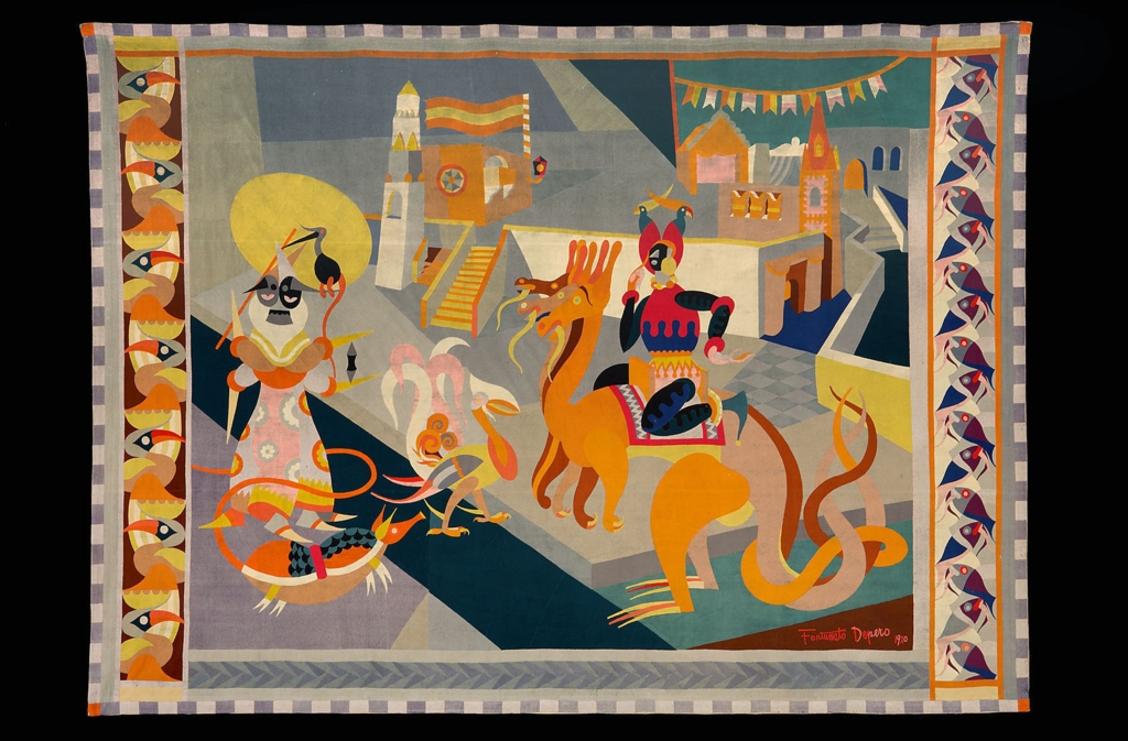 Fortunato Depero: Cabalgata fantástica, 1920