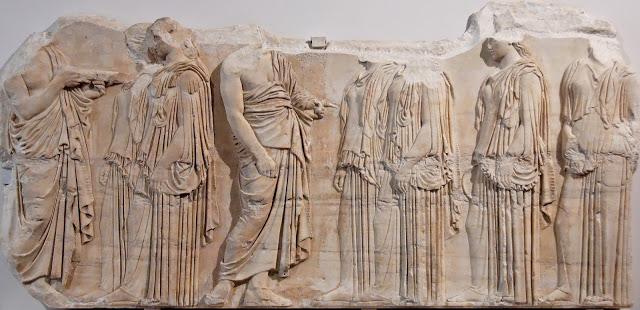 Friso de las Panateneas. Museo del Louvre