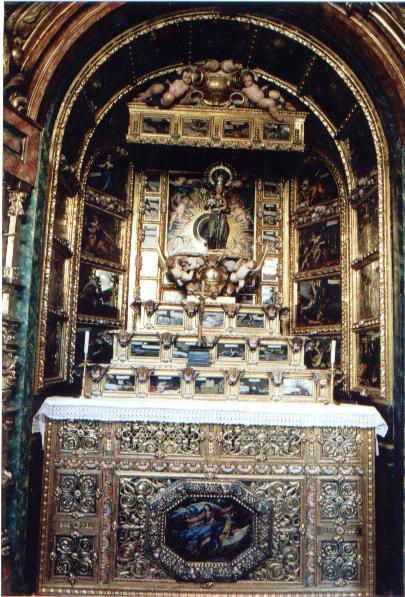 Espejo de Justicia: un retablo Inmaculista en las Descalzas Reales.