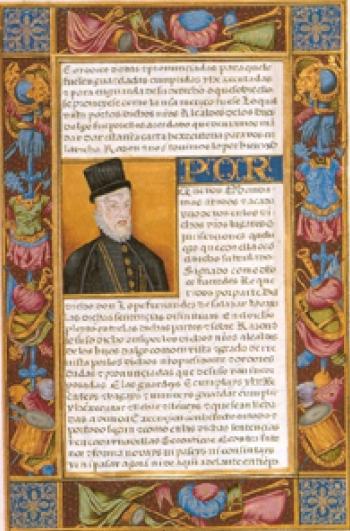 Real Carta de Hidalguía ganada por Juan y Lope Fernández de Salazar, 1558. Fundación Casa de Alba, Madrid.