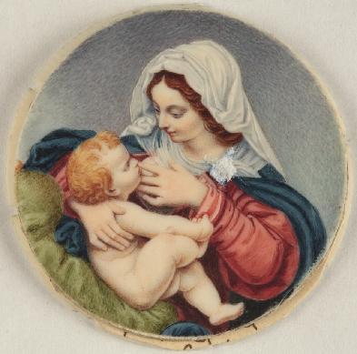 Virgen de la leche, 1788-1808. Museo Nacional del Romanticismo, Madrid