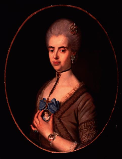 Agustín Esteve: María Josefa Joaquina de Contreras y Vargas. Museo Cerralbo, Madrid.