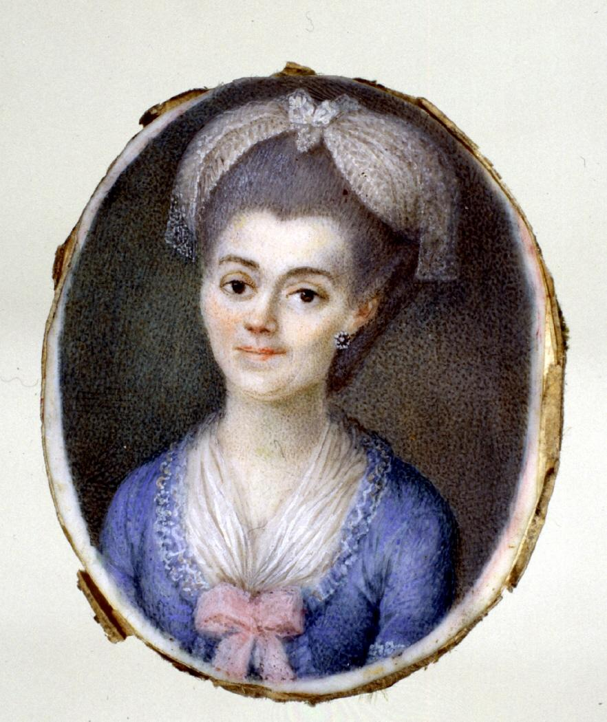 Genaro Boltri, atribuido: Retrato femenino, 1780. Museo Lázaro Galdiano, Madrid