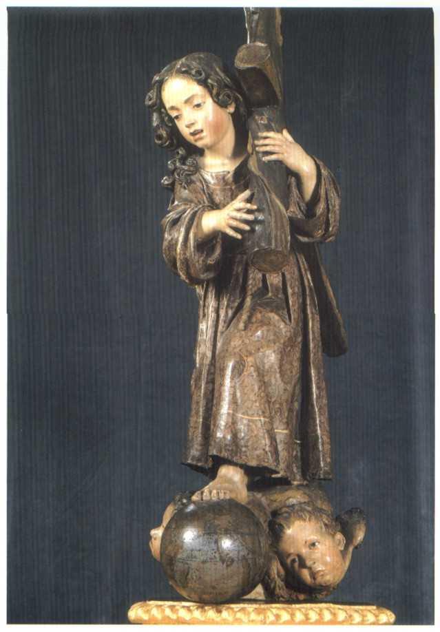 El Niño de la Pasión, una escultura de Alonso Cano en Madrid