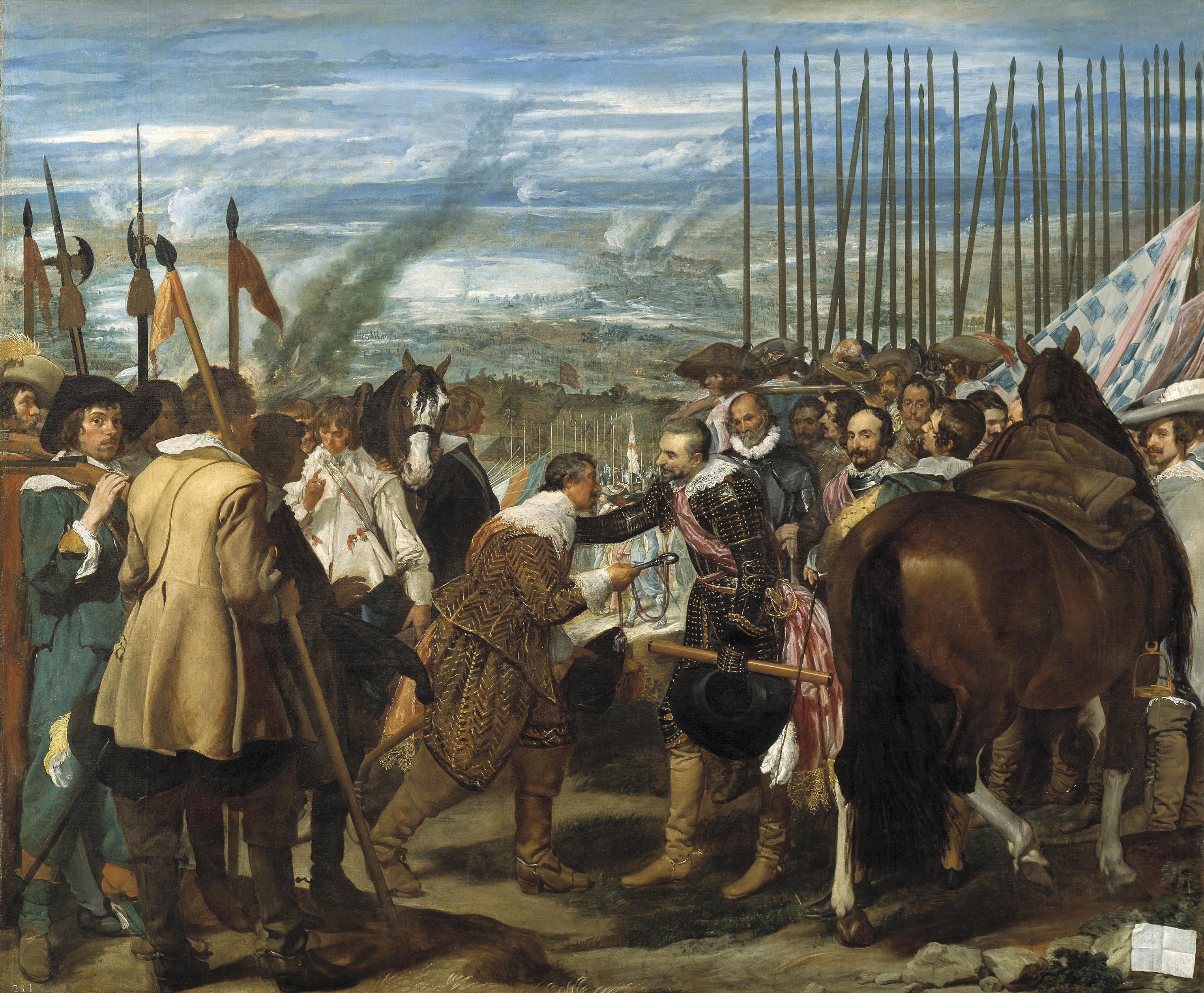 La rendición de Breda. La teatralidad en el barroco español