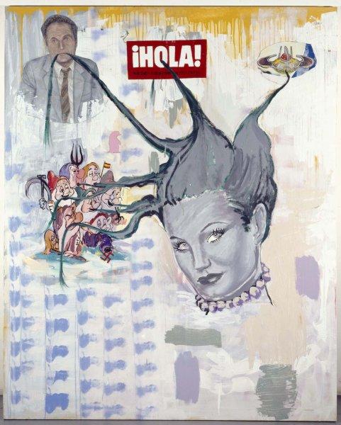 Patricia Gadea: Patosa, 1993. Museo Nacional Centro de Arte Reina Sofia, Madrid.
