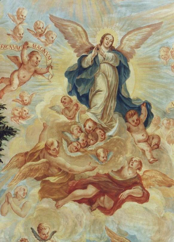 La última Quadratura madrileña: La bóveda de la Capilla de la Congregación de la Inmaculada en el Instituto San Isidro de Madrid