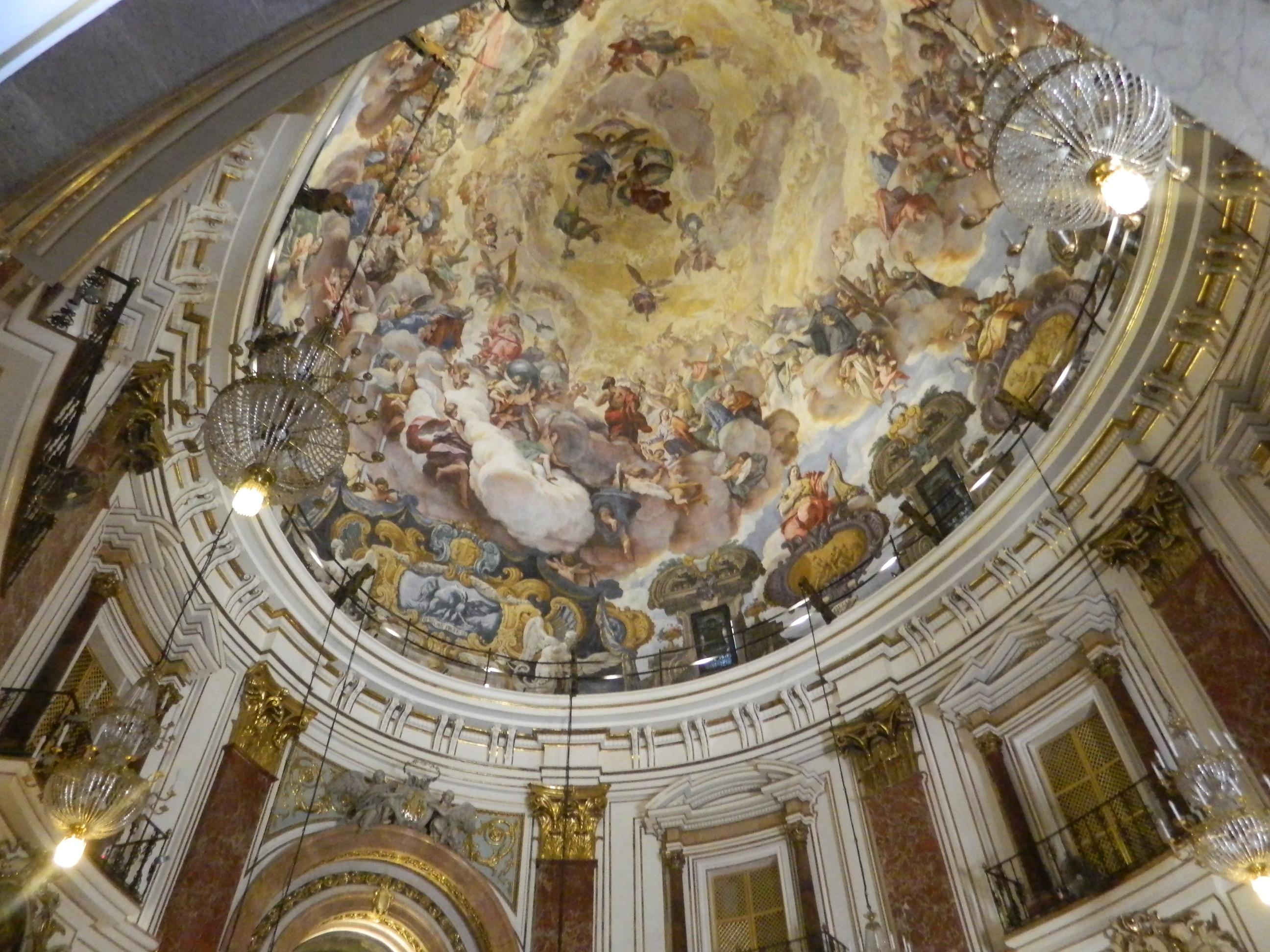 Antonio Palomino: Cúpula de la basílica de la Virgen de los Desamparados, Valencia.