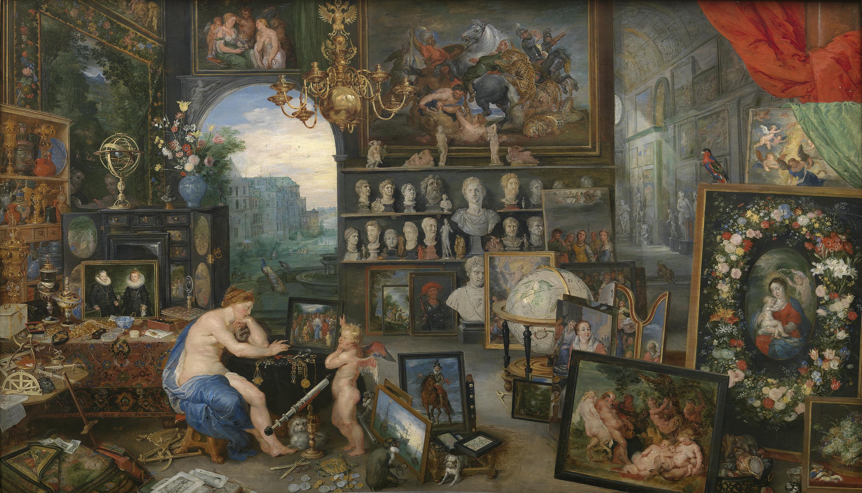 Pedro Pablo Rubens y Jan Brueghel el viejo: La vista. Museo Nacional del Prado, Madrid.