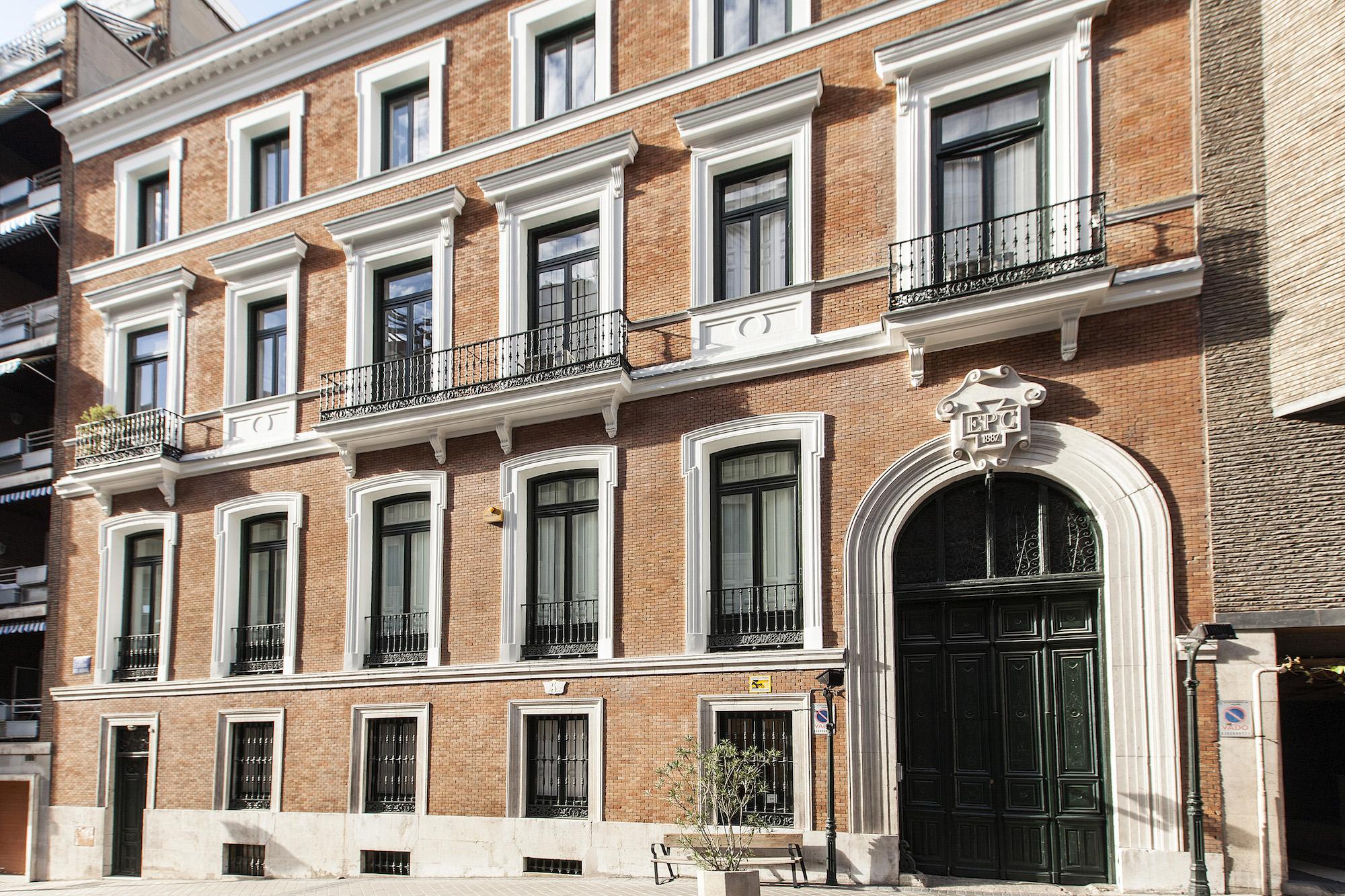 Fachada del antiguo Palacio de Don José de la Carrera.