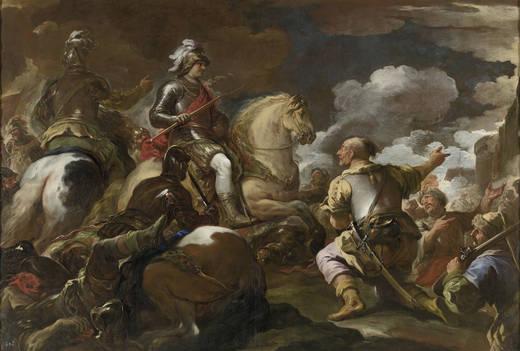 Luca Giordano: Toma de una plaza fuerte. Museo Nacional del Prado, Madrid
