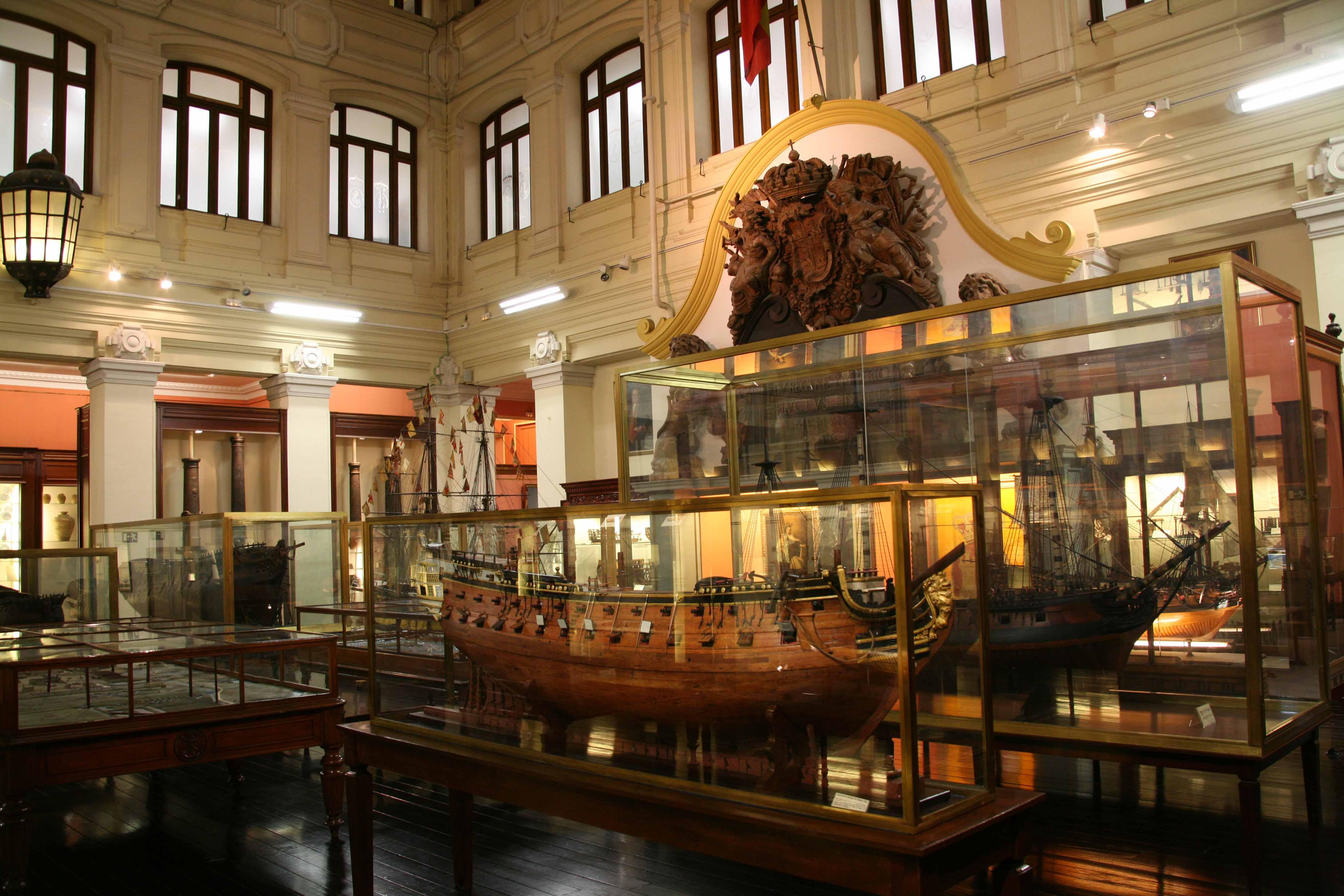 Hoy no es día de mojar la pólvora: El Museo Naval