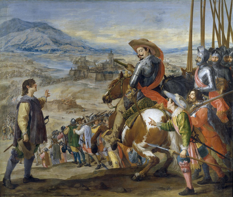 José Leonardo: Socorro de Brisach. Museo Nacional del Prado, Madrid.
