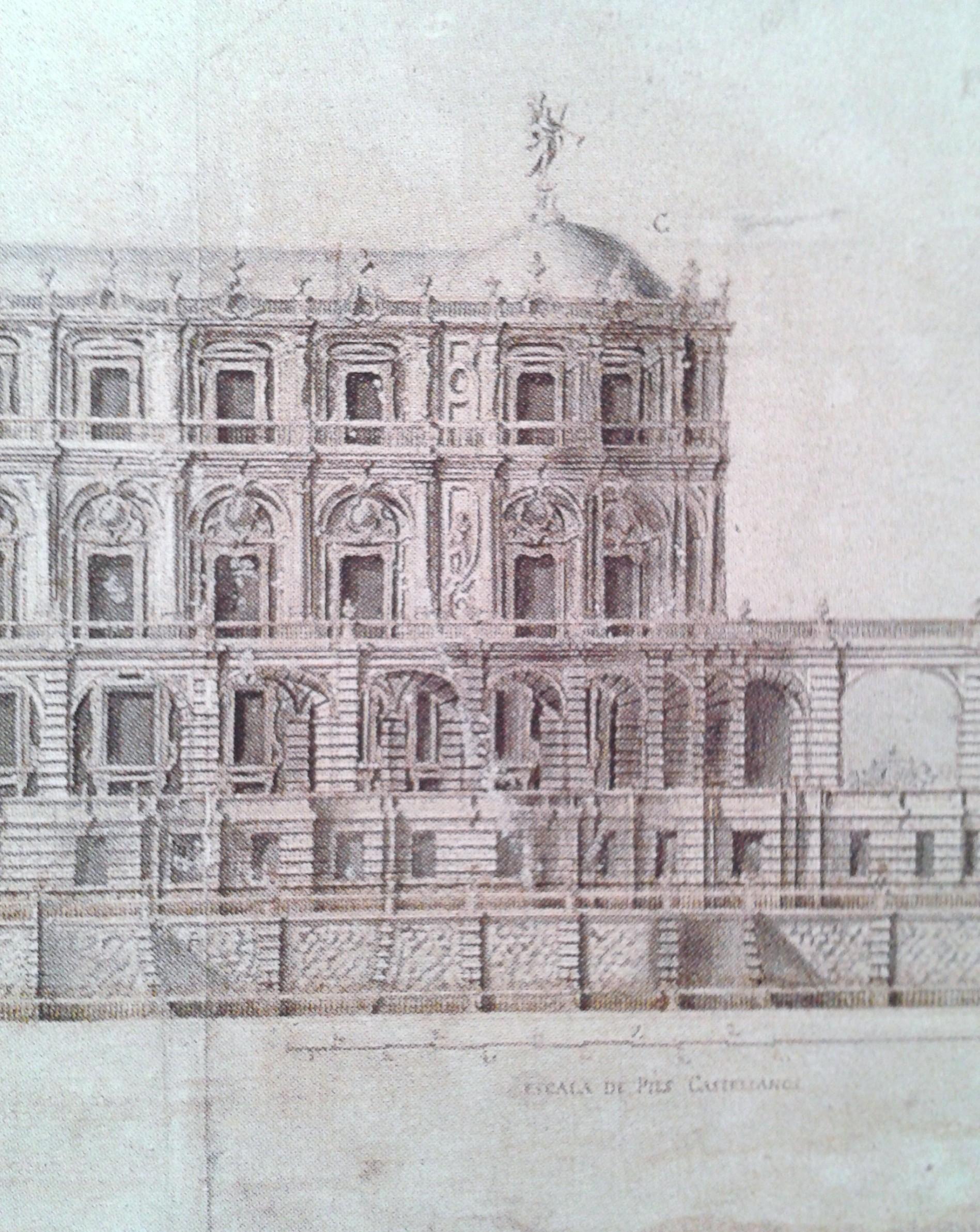 Pedro de Ribera: el Palacio Real soñado