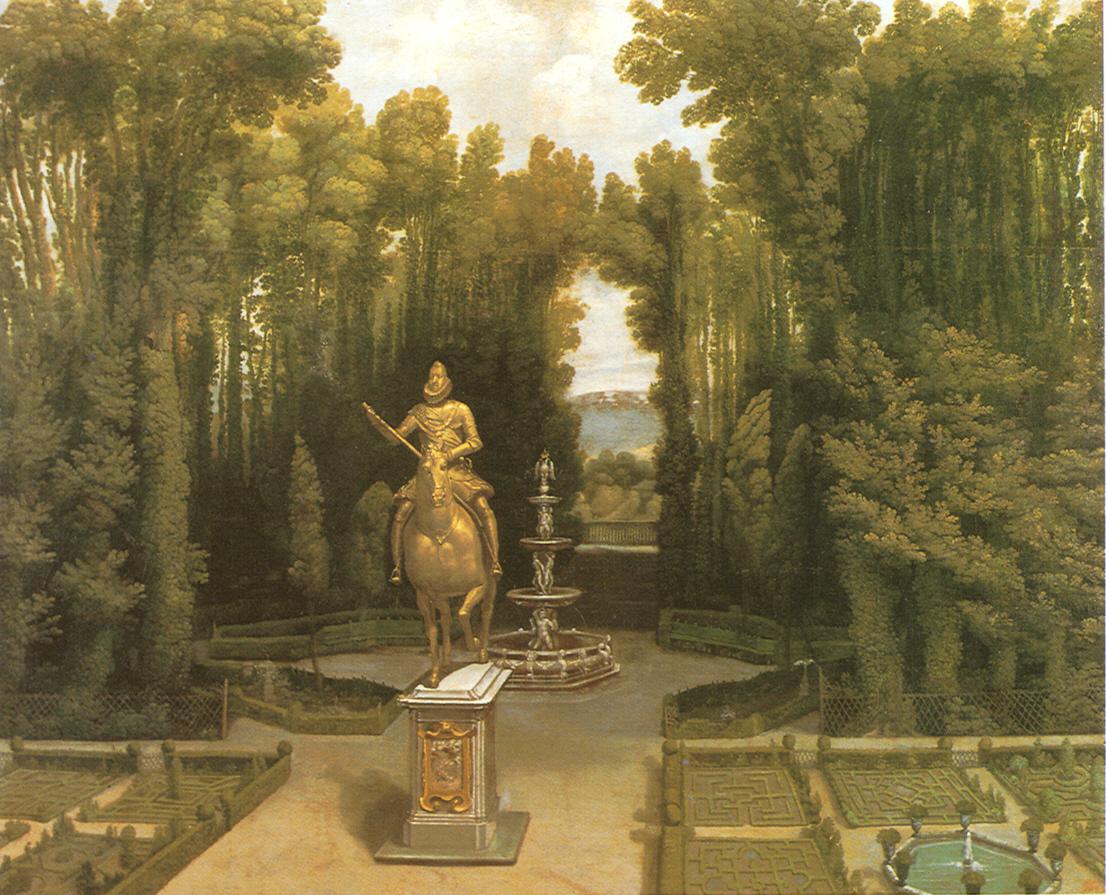 Los jardines en época de Felipe II