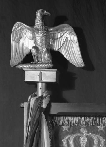 Águila de estandarte Napoleónico.