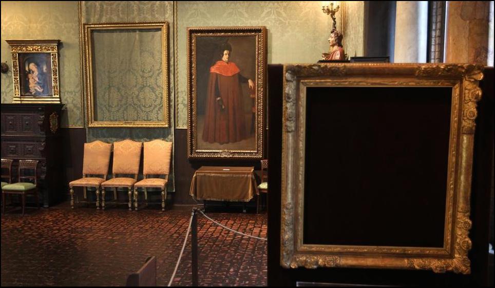 25 años del robo de arte del siglo