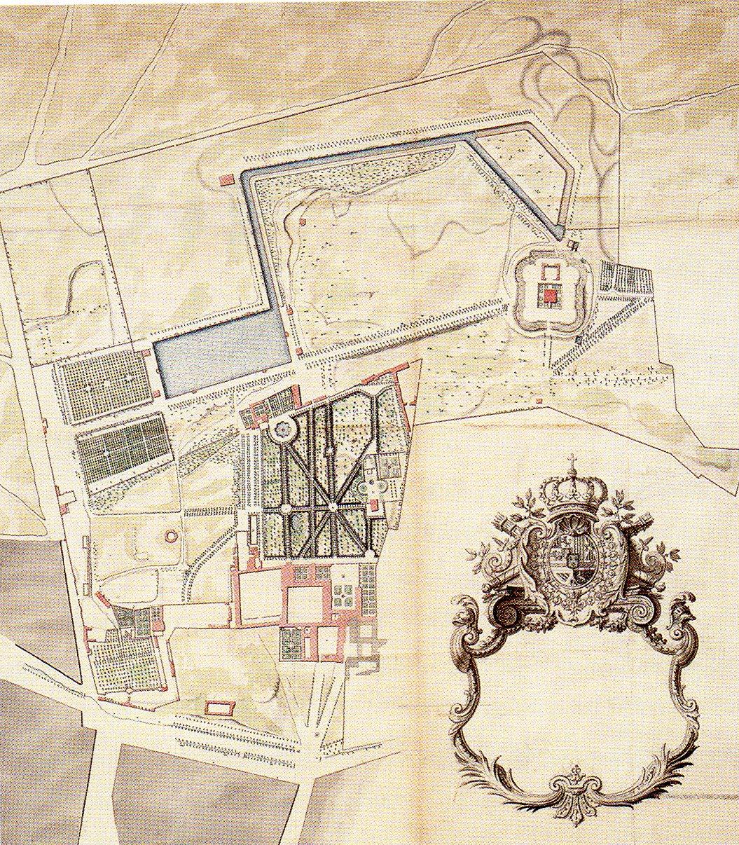 El Retiro que no fue: un palacio francés para Felipe V
