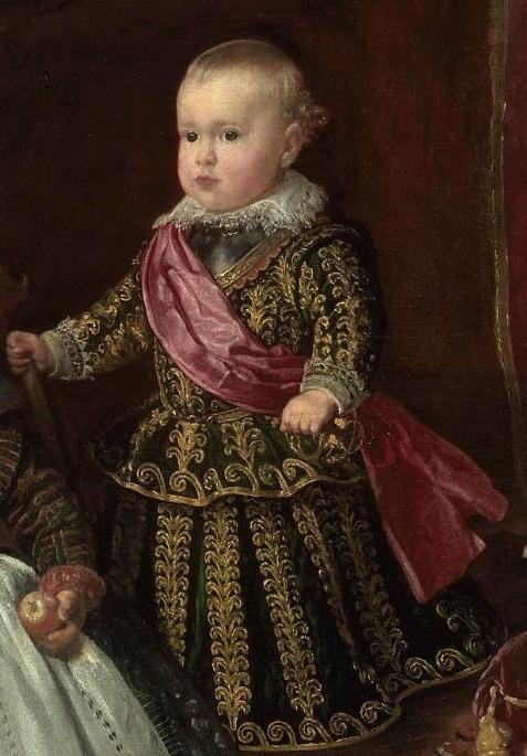 Diego Velázquez: Detalle de Baltasar Carlos.