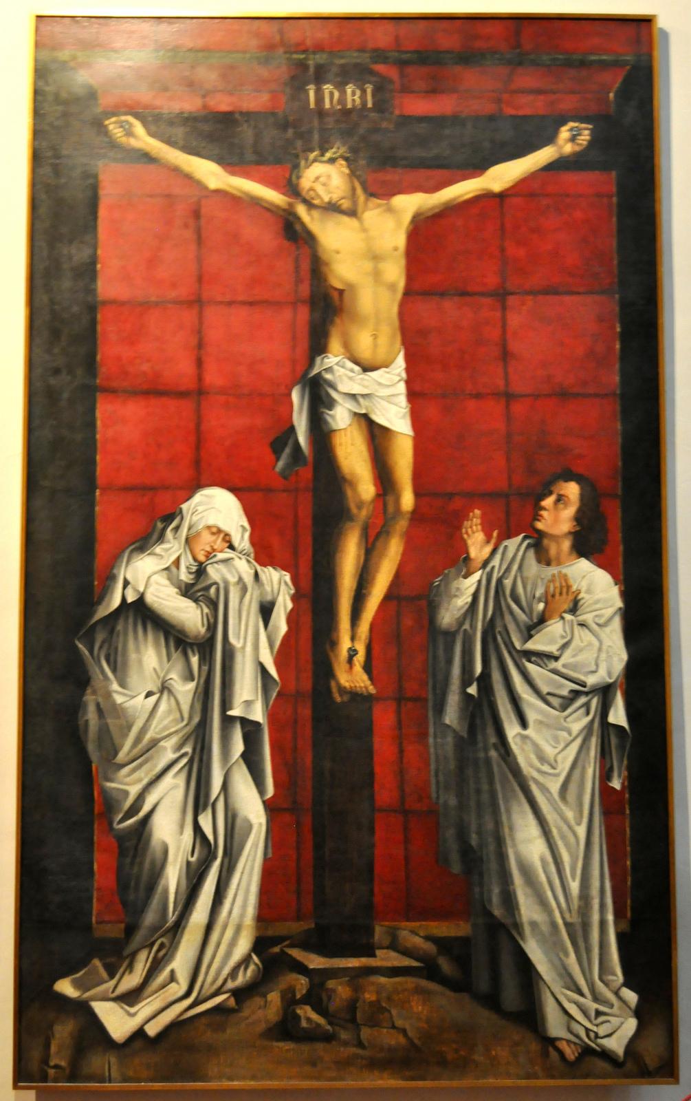 Juan Fernández de Navarrete: La Crucifixión. Toledo, Museo de Santa Cruz.