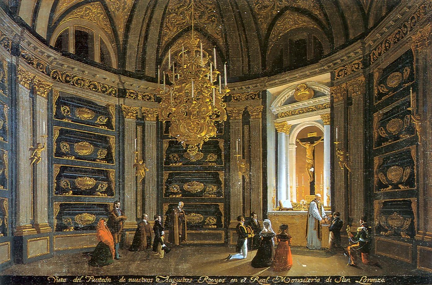 A ésto se reduce todo. El Panteón de Reyes en El Escorial.