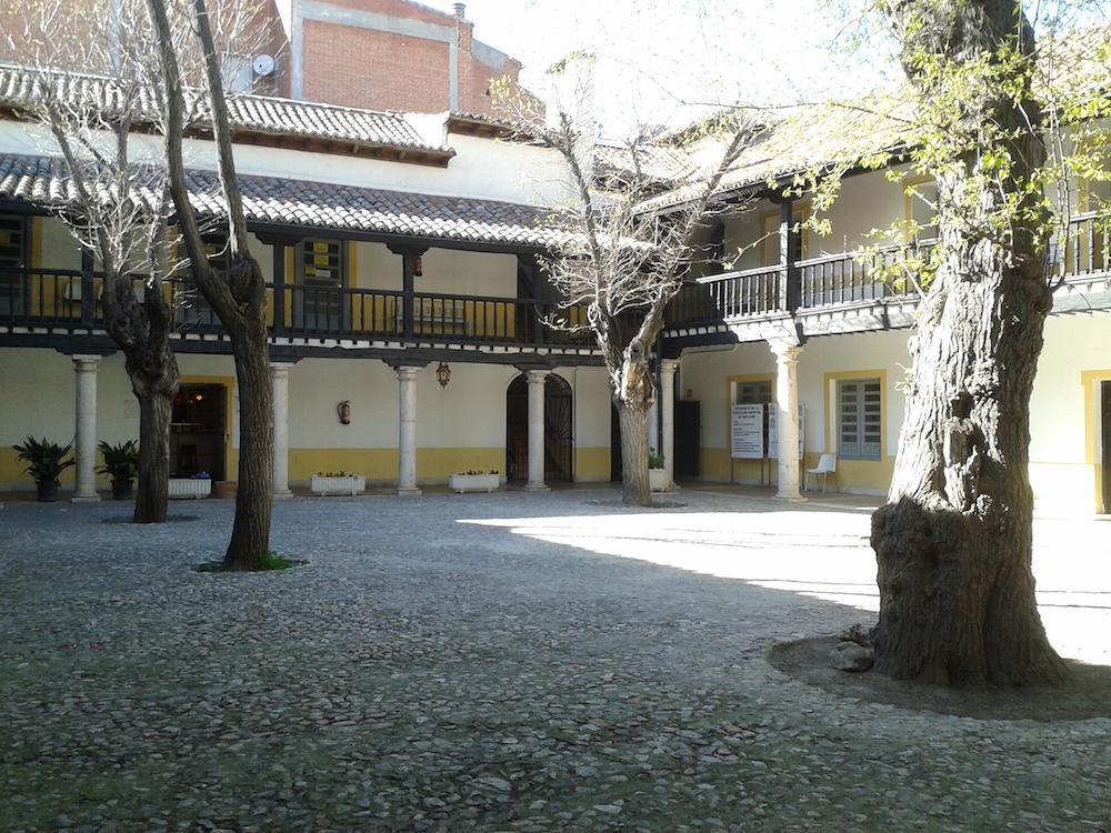Patio central del Hospitalillo de San José de Getafe.