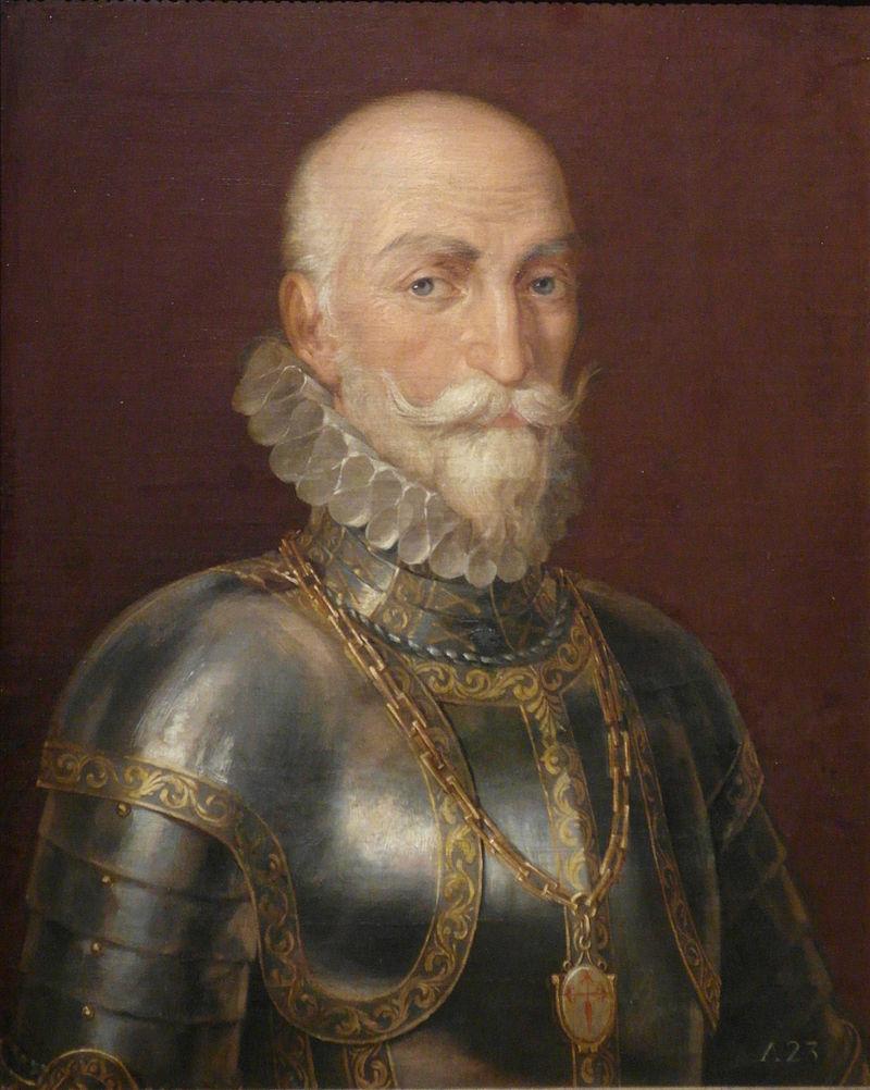 Retrato de Don Álvaro de Bazán, I Marqués de Santa Cruz.