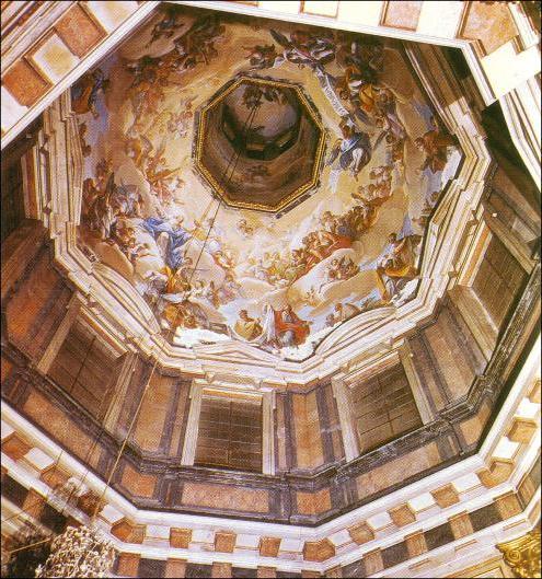 Vista de la Capilla del Ochavo de la Catedral de Toledo.