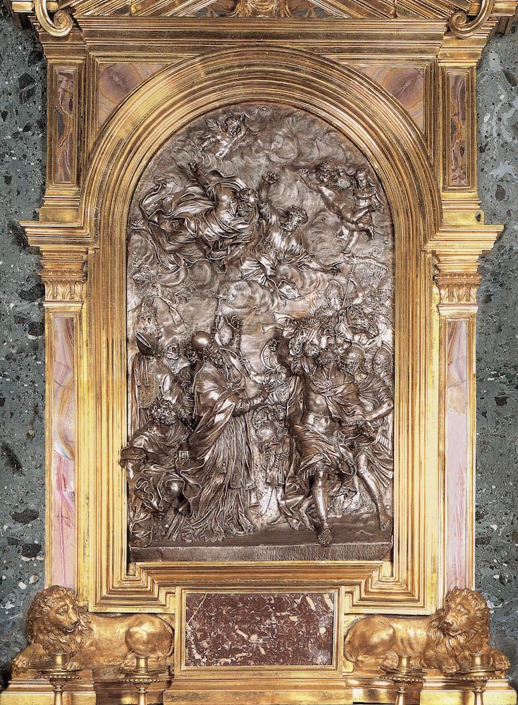 Del coleccionismo y los obsequios diplomáticos: San León deteniendo a Atila