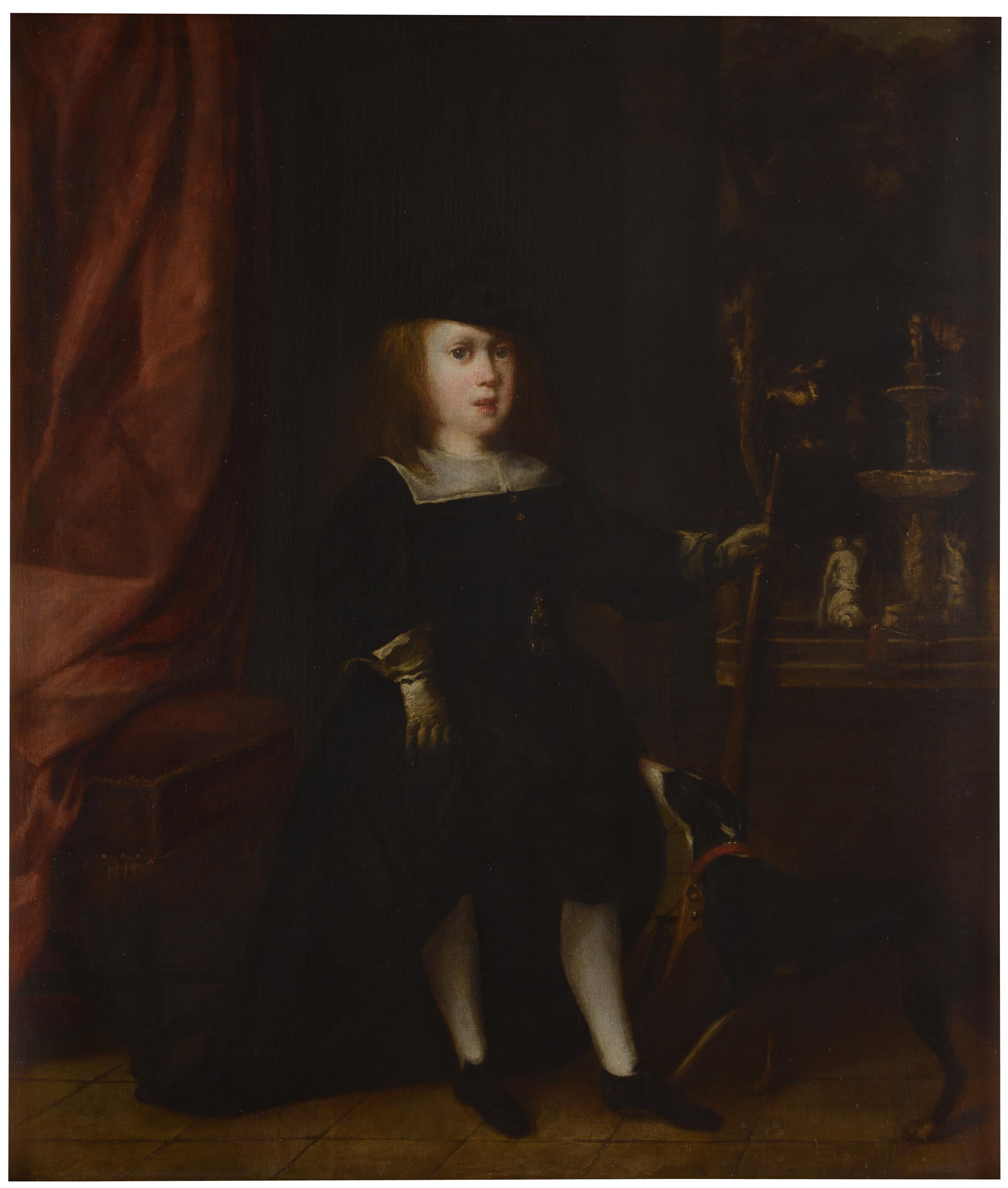 Anónimo madrileño: Carlos II niño como cazador. Madrid, Museo Nacional del Prado.