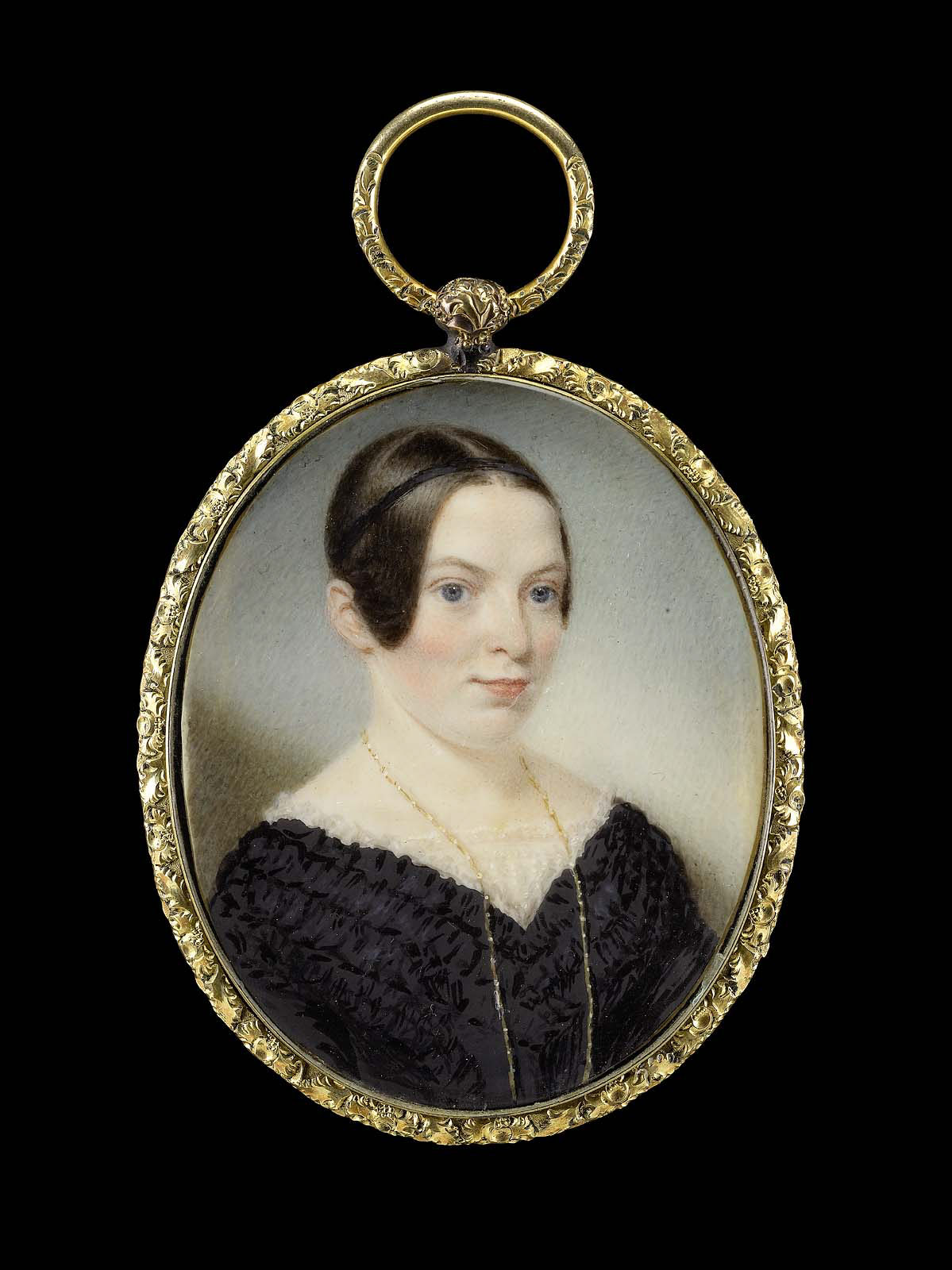 Sarah Goodridge: Retrato de Mrs. Edward Appleton. Museo de Bellas Artes de Boston.