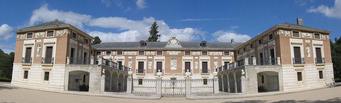 Vista exterior de la Real Casa del Labrador de Aranjuez.