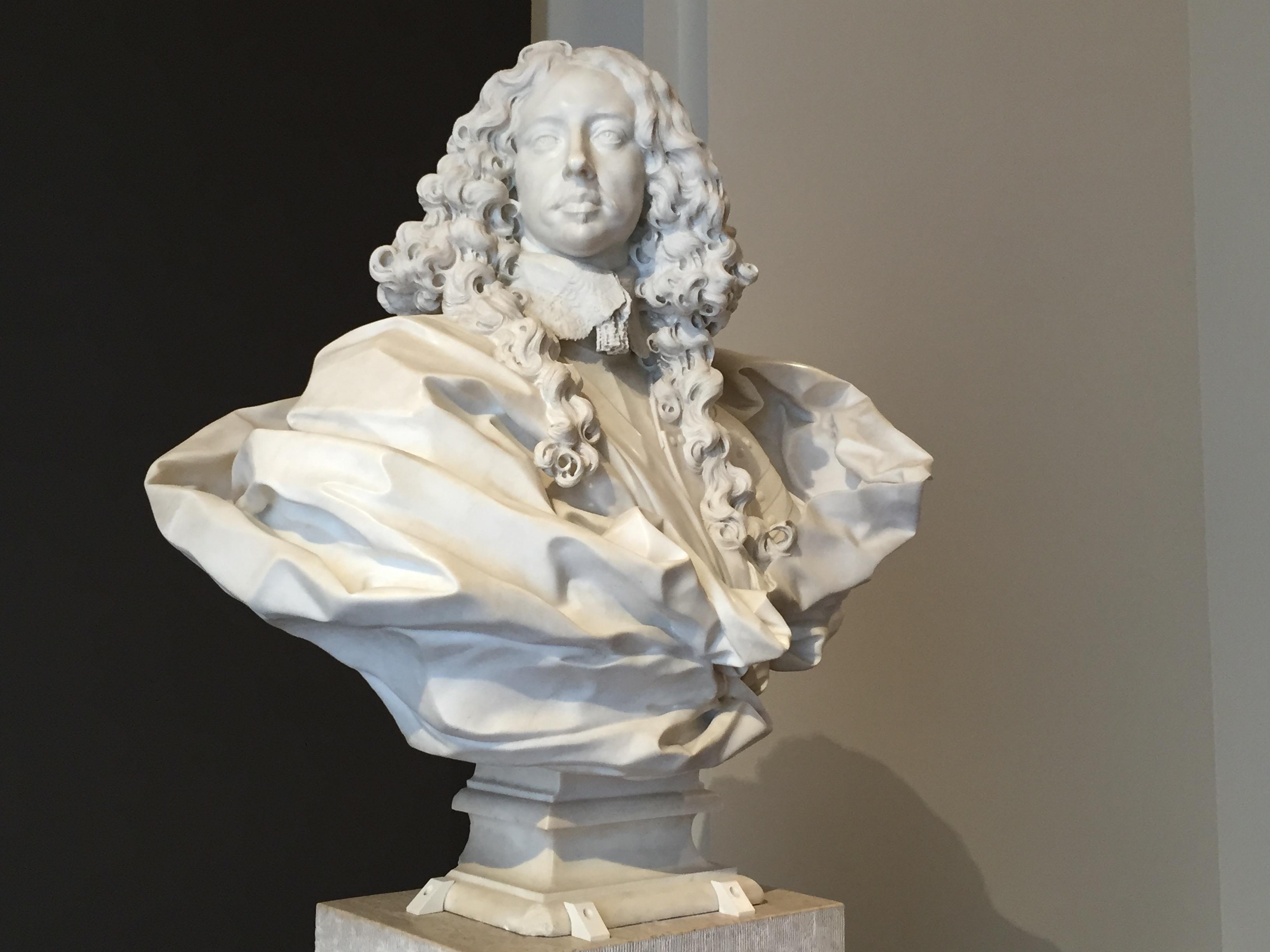 Gian Lorenzo Bernini: Busto del duque Francesco I d'Este, 1651. Galleria Estense, Módena.