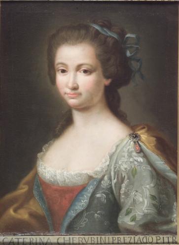 Catherina Cherubini, académica de San Lucas