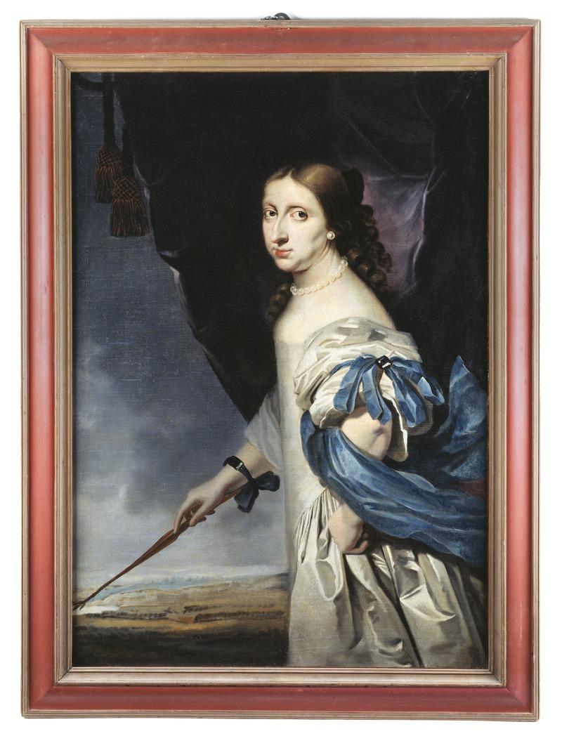 Abraham Wuchters: La reina Cristina de Suecia, ca. 1661.
