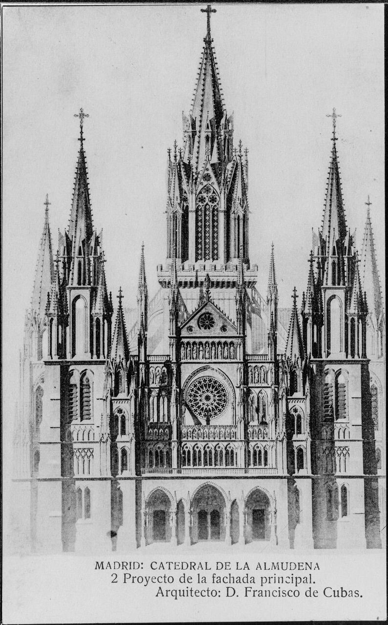 Madrid sin catedral. Breve historia de un desencuentro.