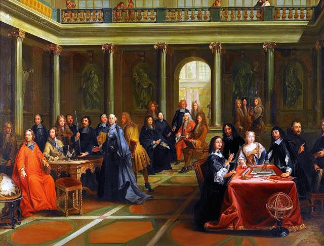 Pierre Louis Dumesnil: Descartes en la corte de la reina Cristina de Suecia. Museo Nacional de Versalles.