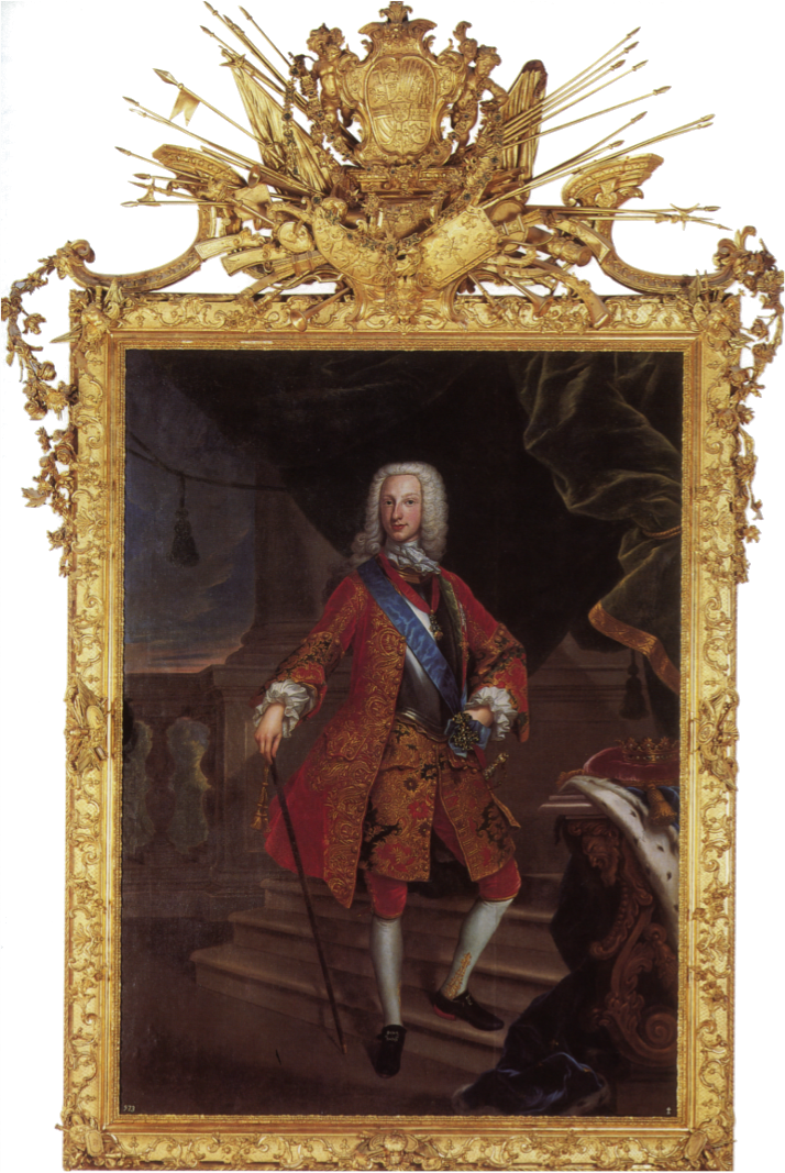 Giovanni Maria delle Piane, il Molinaretto: Carlos de Borbón, duque de Parma. 1732. Patrimonio Nacional.