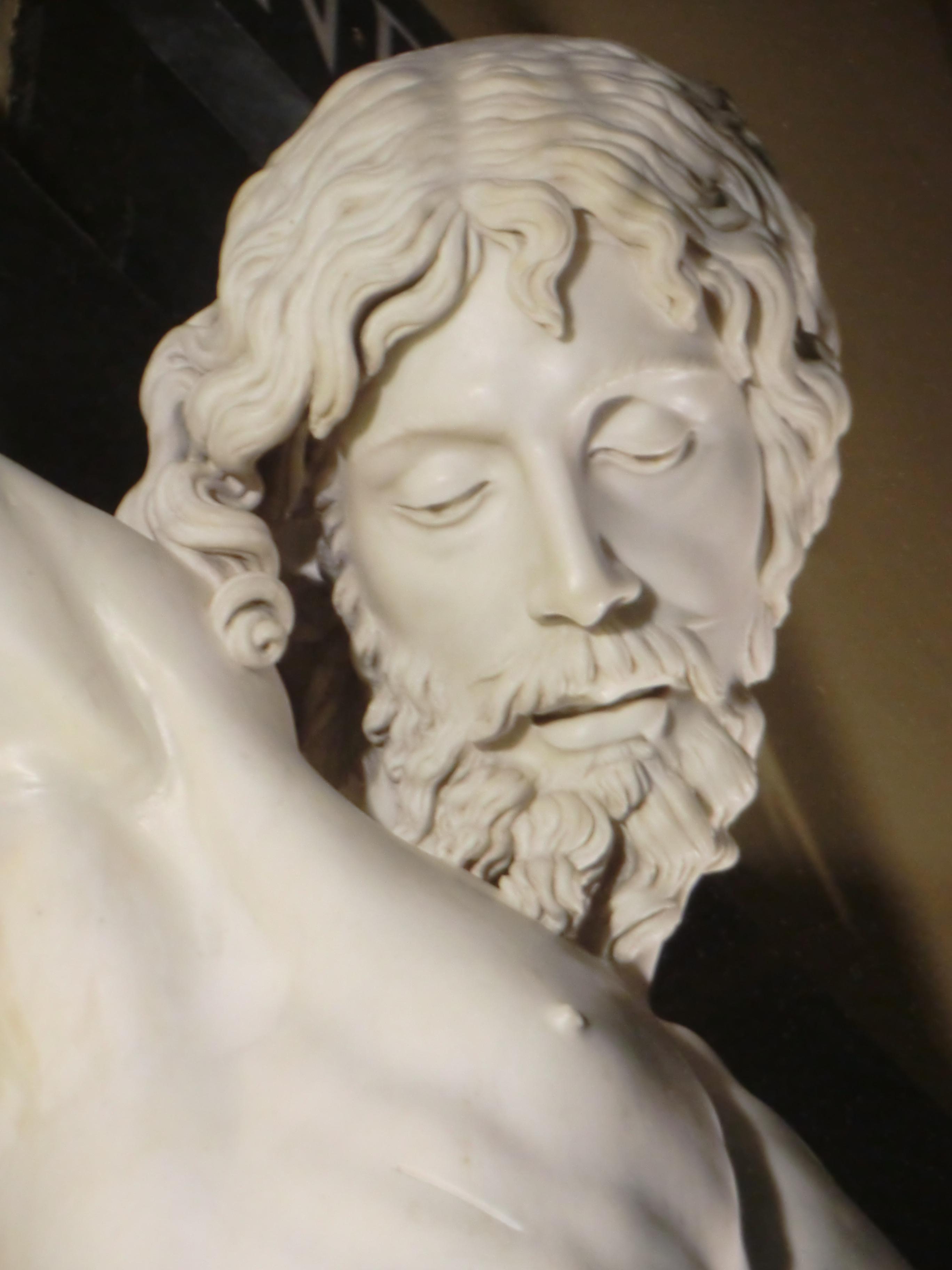 """""""Como si del cielo viniera"""", El Cristo de Cellini en El Escorial."""