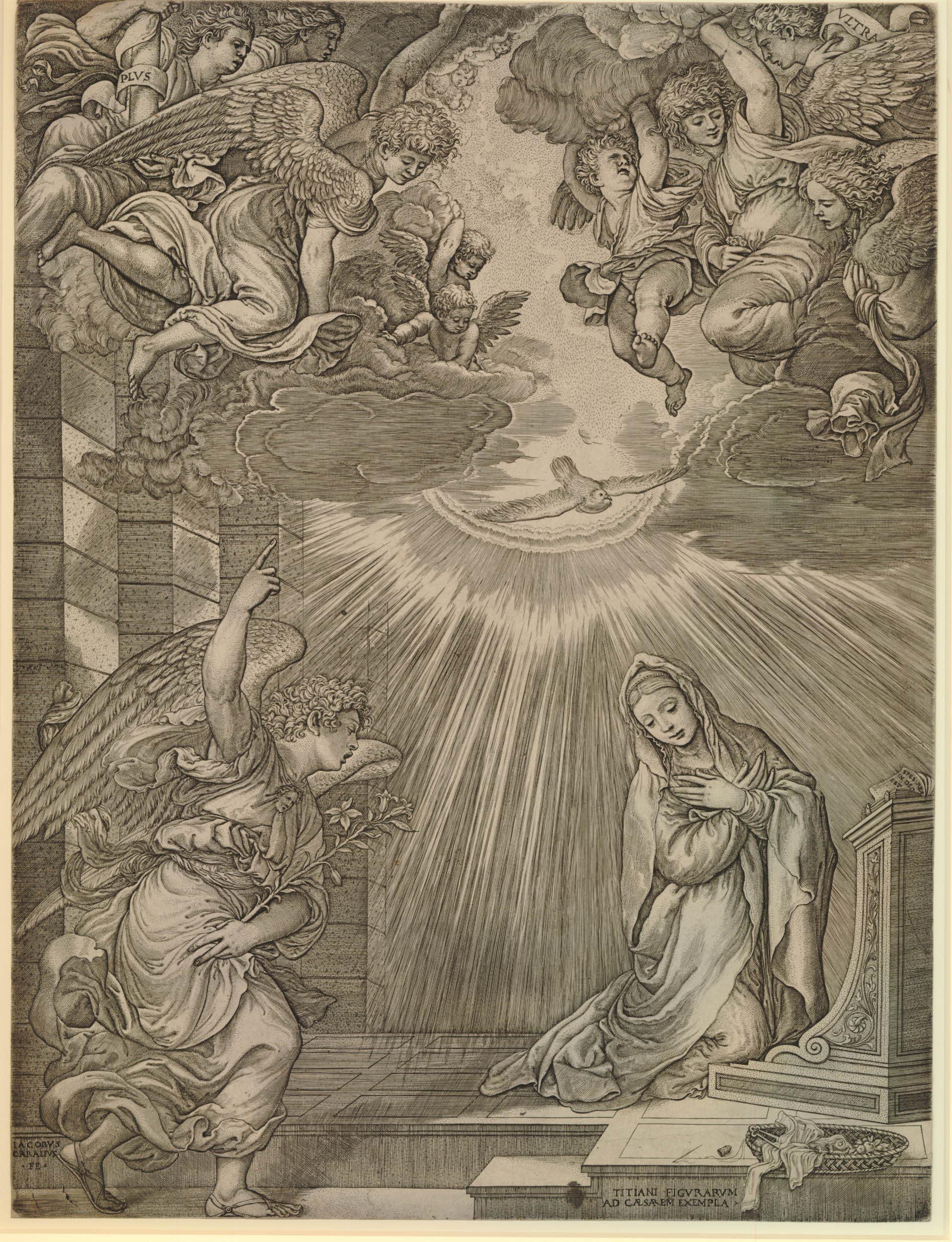 De modelo trascendente a pérdida por desidia: La Anunciación que Tiziano regaló a la Emperatriz