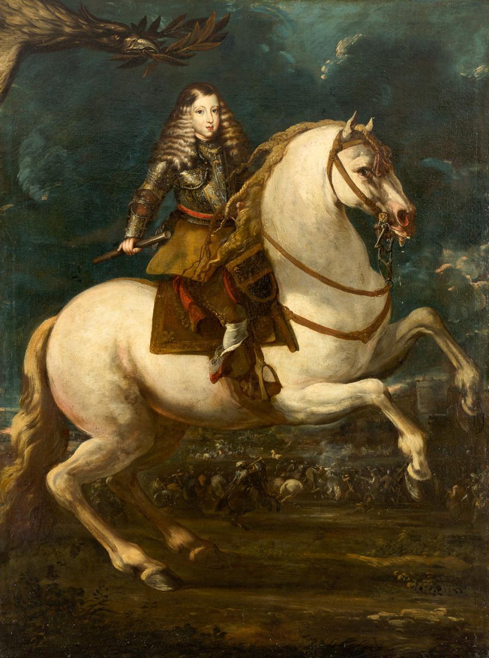 La paradoja en los retratos de Carlos II
